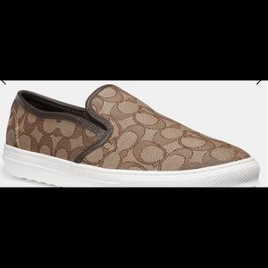 Coach Slip -Ons Size 9